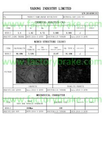9424212112/9424211212/9424210912 Commercial Vehicle Brake Disc for Mercedes-Benz pictures & photos