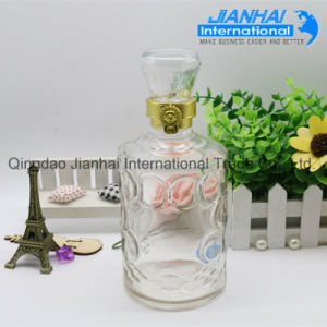Wholesale Design Round Glass Wine Bottle pictures & photos