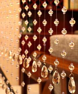 Xmas Decoration of Crystal Glass Rondelle Bead Curtain pictures & photos