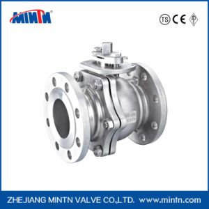 Mintn Pneumatic JIS Standard  High Platform 2-PCS Ball Valve pictures & photos