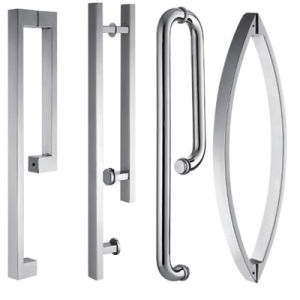 Diamond Shape Hinge Open Shower Enclosure with Clear Glass and Chrome Hardware pictures & photos