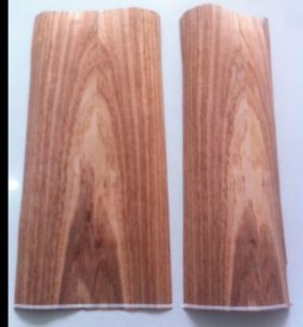 Natural Etimoe Veneer Fancy Plywood 4.6mm in Mexico pictures & photos
