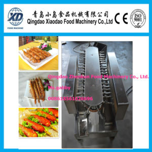 Smokeless Meat Skewer Grilling Machine pictures & photos