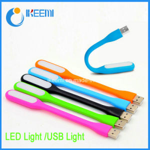 Super Bright Lexible Laptop USB Light with Logo Printed pictures & photos