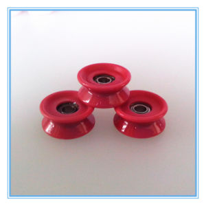 Textile Machine Parts Ceramic Wire Guide Pulley Roller pictures & photos
