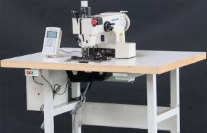 Extra Heavy Duty Automatic Pattern Sewing Machine for Sling Ropes pictures & photos