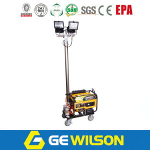 4*400W Diesel Generator Mobile Light Tower pictures & photos