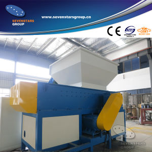Double Shaft Shredder for Plastic Barrel and Pipe pictures & photos