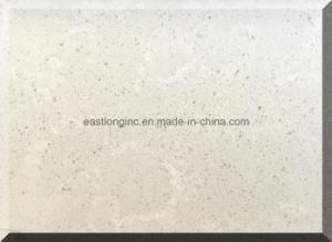Plain White Artifical Quartz Stone with Au Standard pictures & photos
