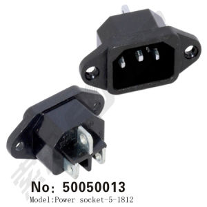 Rice Cooker Power Socket with Ear (iron) (50050013) pictures & photos