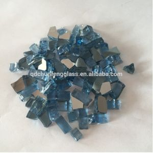 Blue Fire Pit Glass 1-3mm pictures & photos