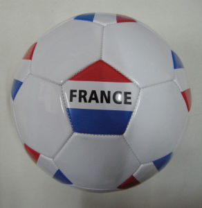 France Country Flag Soccerball Football pictures & photos