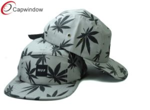 Maple Leaf Design Outdoor Camping Snapback Cap pictures & photos