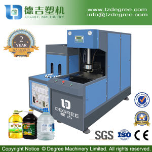 Pet Semi-Automatic Bottle Stretching Blowing Molding Machine pictures & photos