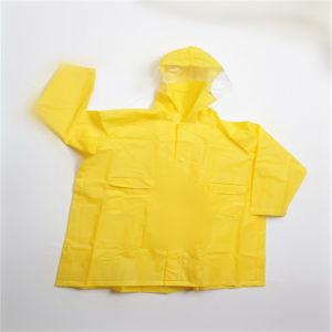 EVA Environmental Popular Raincoat with Hood pictures & photos
