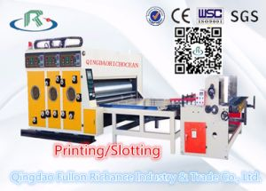 Multi-Color Water Ink Cardboard Printing Slotting Machine pictures & photos