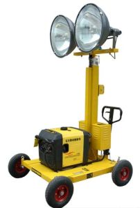 Vehicle-Mounted Outdoor Trailer Mounted Lighting Tower pictures & photos