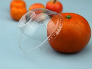 Disposable Pet Dome Lid for Food Container and Ice Cream Paper Cups