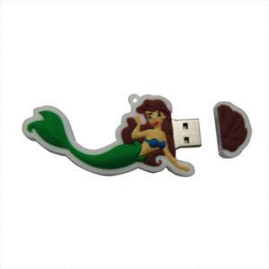 PVC Mermaid 1GB ~ 64GB USB Flash Drive pictures & photos