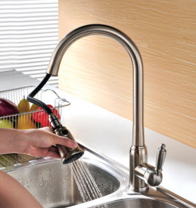 Single-Lever Pull out Kitchen Sink Mixer pictures & photos