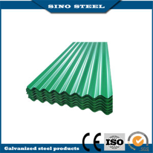 800mm Wide PPGI Color Coated Corrugated Steel Sheet pictures & photos