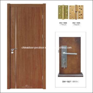 (PVC-M-021) PVC Door Firm Frame Timber Door Interior