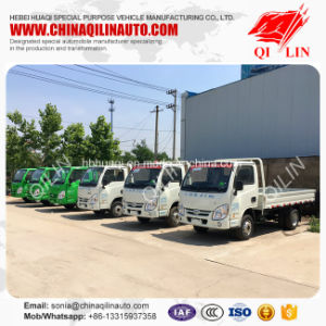 5 Meters Length Side Wall Cargo Truck with 6.00-14 Tire pictures & photos