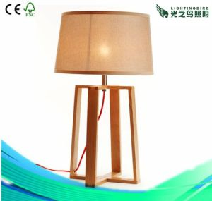European Style, Fashionable, Table Lamps Lighting, Wood Lamps (LBMT-LD)