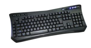 Backlit Gaming Keyboard with Hot Keys (KBB-005A) pictures & photos