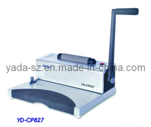 Coil Binding Machine (YD-CP827) pictures & photos