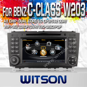 Witson Car DVD for Mercedes-Benz C Class W203 (2004-2007) / Clc W203 (2008-2010) / G-Class W467 (2005-2007) (W2-C093) pictures & photos