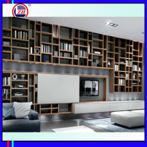Modern Hot Sale TV LCD Wooden Cabinet Designs (Zh033) pictures & photos