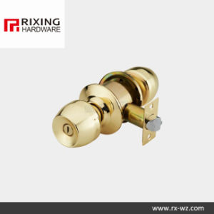 Iron or Stainless Steel Cylindrical Knob Lock (578GP) pictures & photos