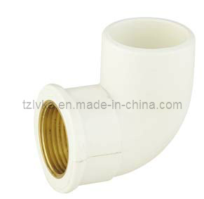 ASTM-PVC Female 90 Deg Elbow with Cooper (GT081) pictures & photos