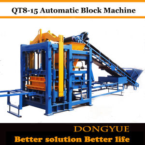 Qty8-15 Full Automatic Hydraulic Cement Brick Machine, Concrete Block Machine pictures & photos