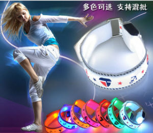 Customized LED Reflective Captain Sport Armband for Running at Night