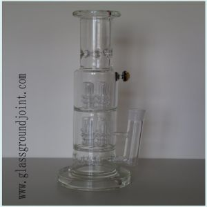 High Quality Borosilicate Glass Smoking Water Pipe Hookah with Ground Joint pictures & photos