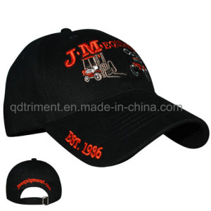 Heavy Brushed Cotton Twill Embroidery Custom Baseball Cap (TMB6176) pictures & photos
