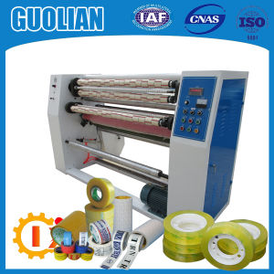 Gl-215 Economic Printed Sealing Tape Slitting Machine pictures & photos