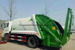 Dongfeng 15t LHD Refuse Truck 15 Cubic Meters Garbage Compress Truck Price pictures & photos