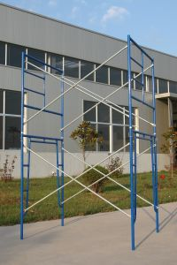 Painted Steel H Frame Scaffold System (FF-635A) pictures & photos