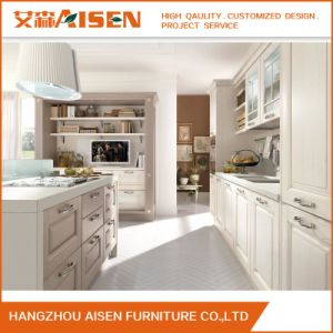 Luxury Gorgeous Selling Wooden Kitchen Cabinet pictures & photos