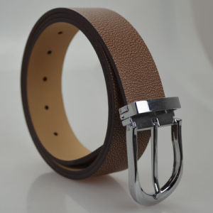 Tailor Smith Classical Brown Style Men′s Genuine Leather Belt Formal Wear Accessories pictures & photos
