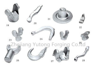 Ts-16949 Proved Steel Forging Machinery Part Custom-Made Forging Part for Sling 4 pictures & photos
