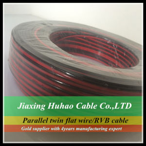 2X1.0mm2 2X1.5mm2 2X2.0mm2 Copper/CCA Conductor PVC Speaker Cable/Electric Wire pictures & photos