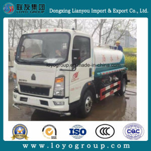 Sinotruk HOWO 4X2 8t Water Spraying Truck 8000L Water Ssprinkler Truck pictures & photos
