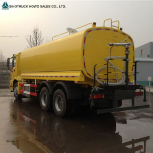 Sinotruck HOWO 6X4 20m3 Plam Oil Fuel Truck for Sale pictures & photos