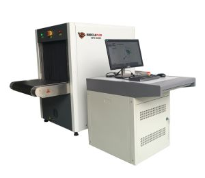Dual-energy X ray Baggage Scanner SPX6550 with 160KV generator for Bank use pictures & photos