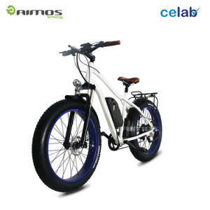 Beach Fat Tyre Snow Mountain Electric Bike with 1000W Gear Motor pictures & photos