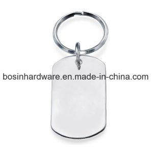 Stamping Personalized Stainless Steel Dog Tag Keyring pictures & photos